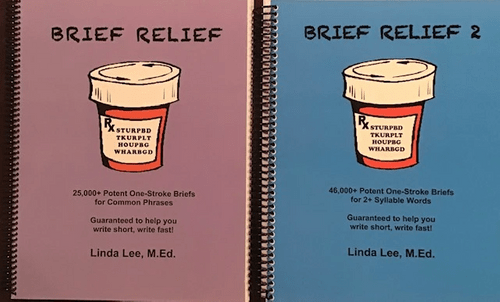 7. Brief Relief (phrases) and Brief Relief 2 (multisyllabic words) - Physical Books
