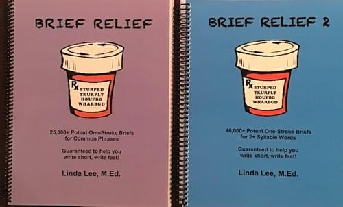 Brief Relief (phrases) and Brief Relief 2 (multisyllabic words) - Physical Books