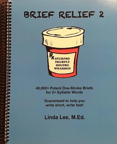 8. New release!  Brief Relief 2 (multisyllabic words edition) - Physical Book