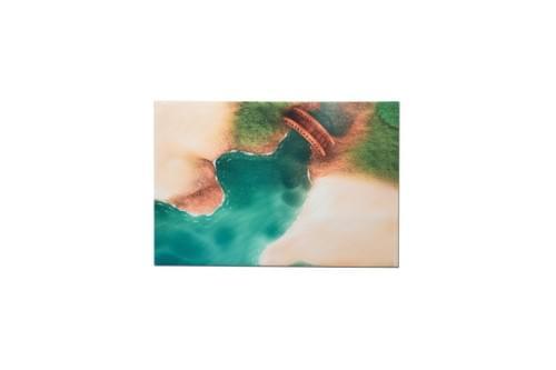 """Tapis de jeu """"Crique Mystérieuse"""" 90 x 60 cm (01CM90A)"""