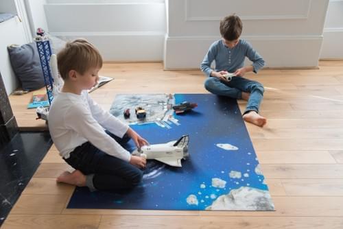 "Tapis de jeu ""Odyssée Spatiale"" 120 x 90 cm (05OS120A)"