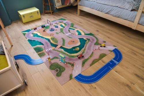 """Tapis de jeu """"Circuit Urbain"""" 180 x 120 cm (03CU180)"""