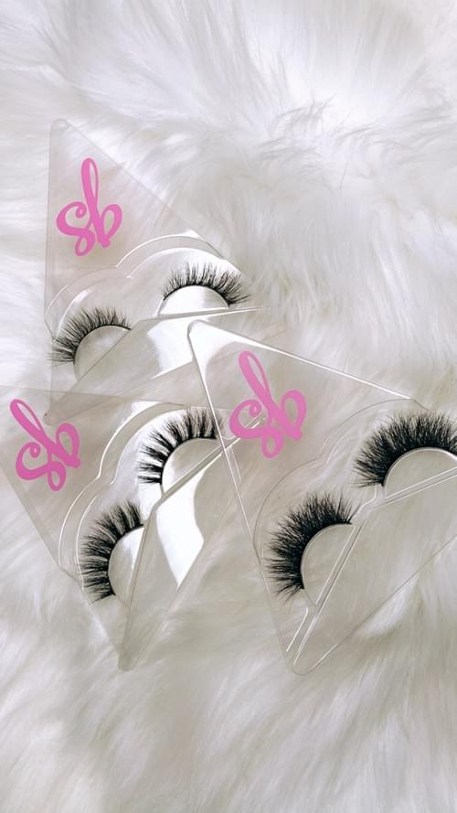 EnVie, Bella & Kaylee 3D Luxury Mink Lashes Tri Pack