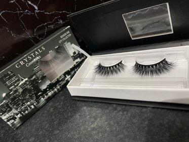 Crystal's cosmetics lashes city collection