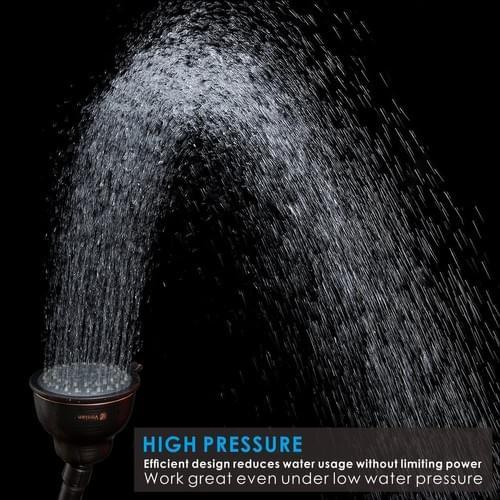 "4"" High Pressure Shower Head (Oil-Rubbed Bronze)"