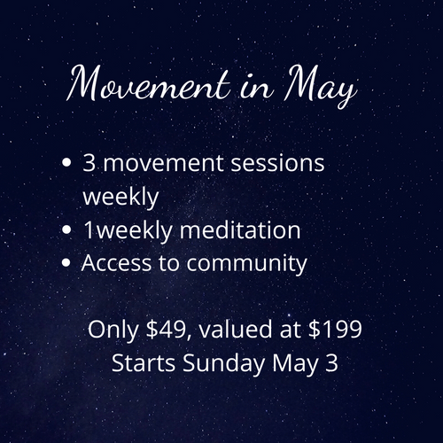 Movement in May