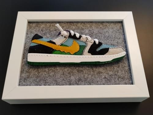 Limited Edition Handmade 2D Classic Designer Sneakers