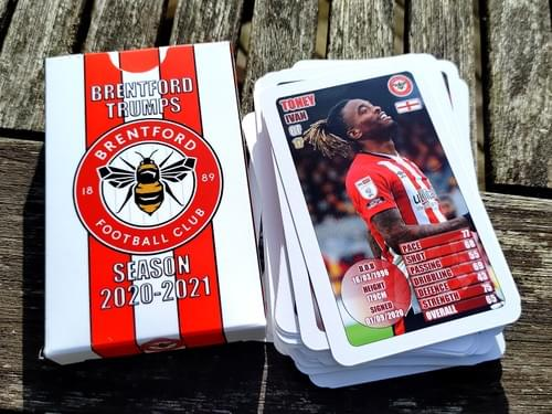 Football Team Trumps Cards - Limited Edition