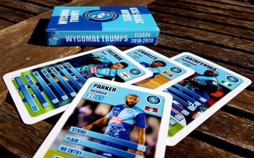 Wycombe Wanderers FC Card Game - Limited Edition
