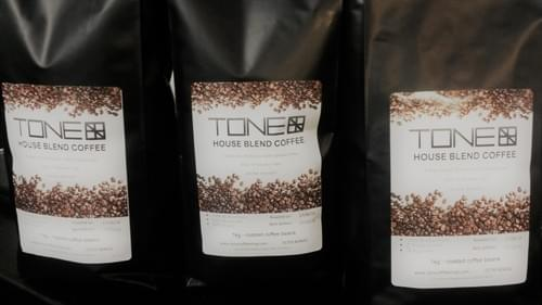 TONE - House Blend Coffee - 1KG Dark Roast Beans