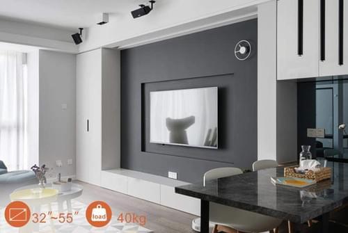 "Flat Slim Universal TV Wall Mount for 32"" - 55"""