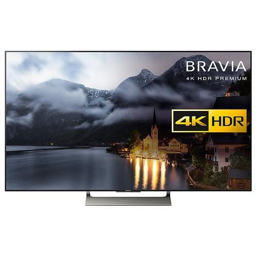 "Sony Bravia KD65XE9005 LED HDR 4K Ultra HD Smart Android TV, 65"" with Freeview HD & Youview, Black"