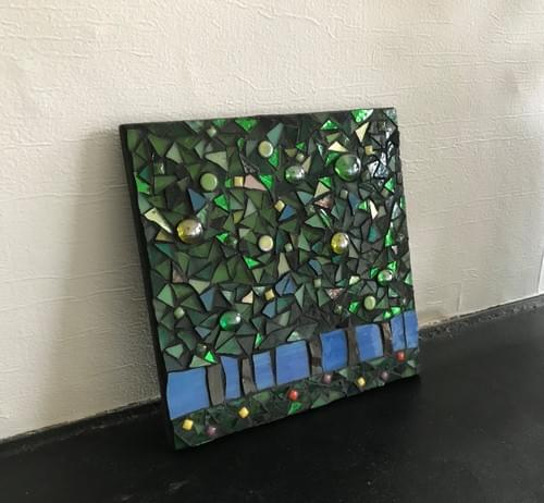 15 cm The Light Beyond Mosaic Panel
