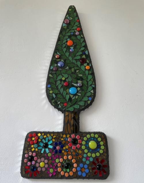 Taper Tree Wall Panel (Multicoloured)