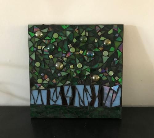 15 cm The Light Beyond Mosaic Panel   2