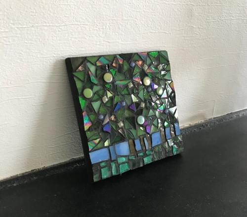 10 cm The Light Beyond Mosaic Panel