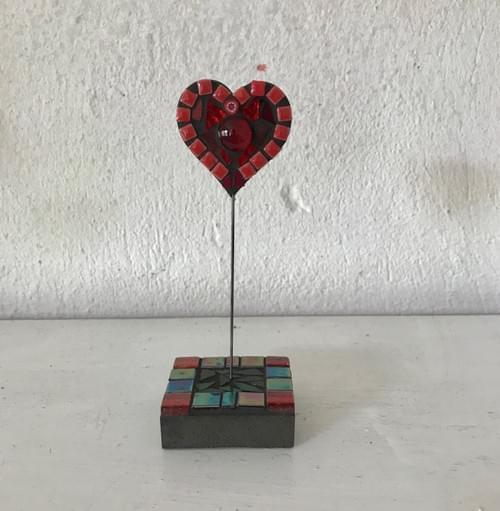 Single Heart (h. 12.5cm)