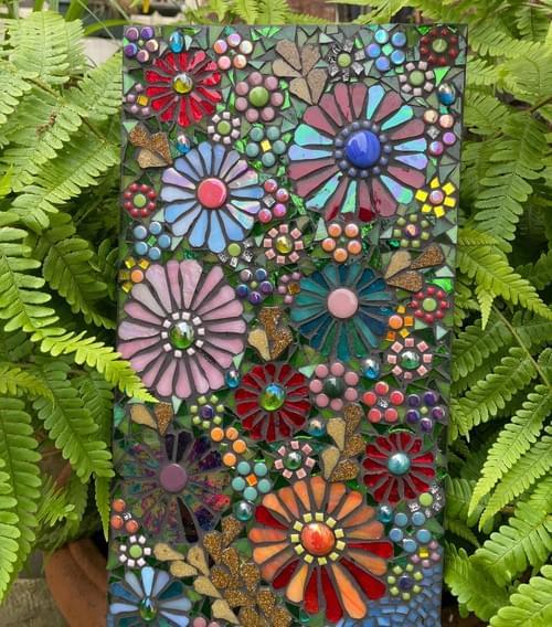 Cornucopia Mosaic Wall Panel