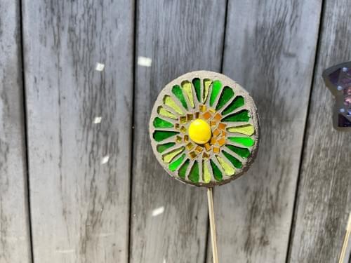 Orbital Garden Stake (50 cms) Green