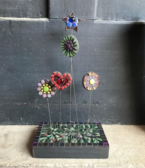 Miniature Mosaic Garden