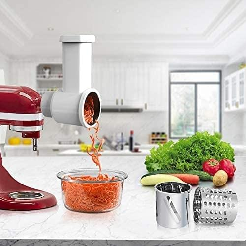 Slicer/Shredder Attachments for KitchenAid Stand Mixer [2020 Upgraded Version],  Electric Che