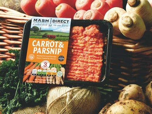 mashed carrot & parsnip