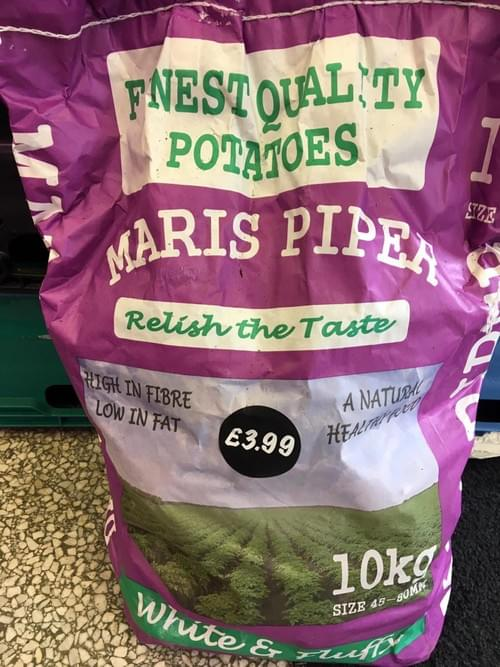 Marris Pipers Potatoes