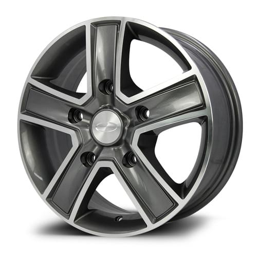 TRA R-SERIES MACHINED FACE GUNMETAL 16INCH
