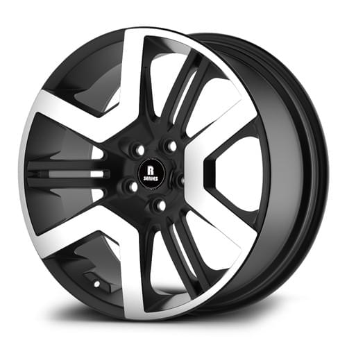 RHNE3 R-SERIES HF MACHINED FACE BLACK 20INCH