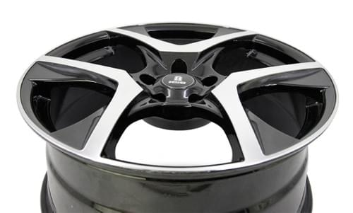 RHN-VF2 R-SERIES HF MACHINED FACE BLACK 20INCH