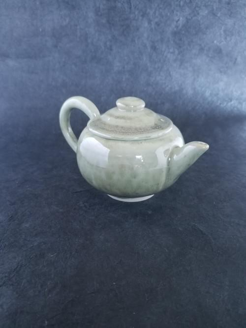 Forest green Crystal Tea Pot 250ml