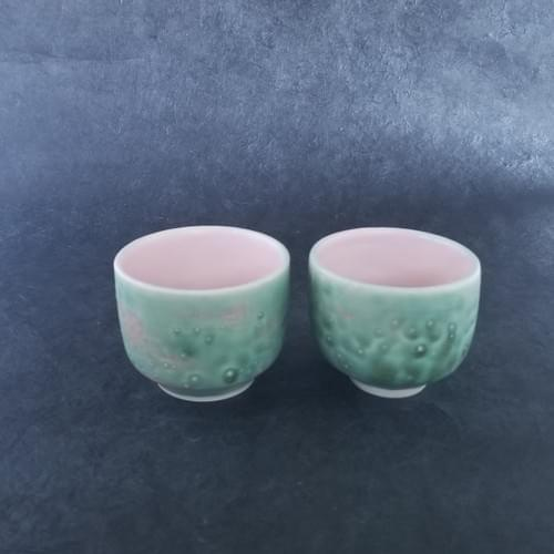 Watermelon Tea Cups