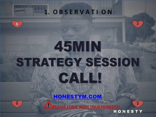 H Strategy Session with Me, Adriana!