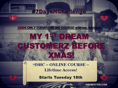 #DreamBizFromScratch Online Course - 1st High Paying Customers in 30days!