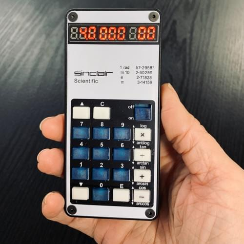 Replica Sinclair Scientific Calculator