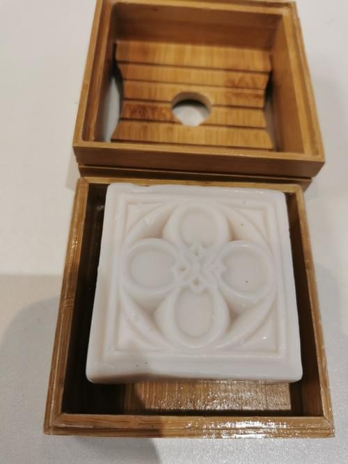 savon bio monoi fleur