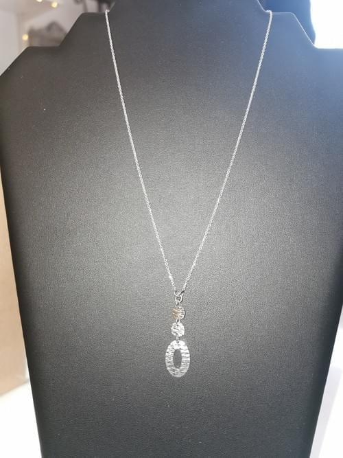 collier pendentif argent 925 neuf