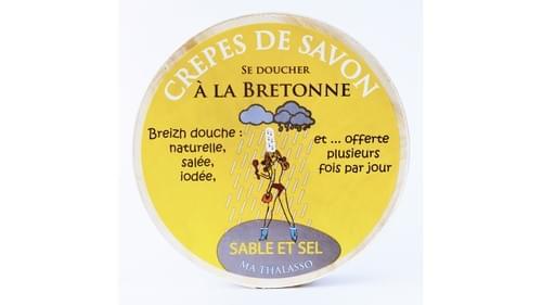 Crêpes de savon Sable et sel ( boite de 10 crêpes ) 1