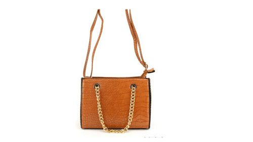sac simili chaines Luna camel