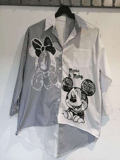 Chemise Mickey Taille  unique