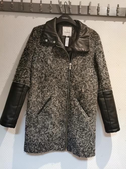 manteau gris chiné KOOKAI T 36