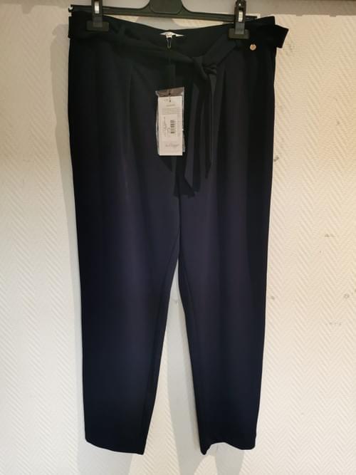 "pantalon fluide marine "" jus d'orange"" taille 3"