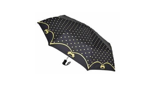 parapluie Lili Petrol noir/doré