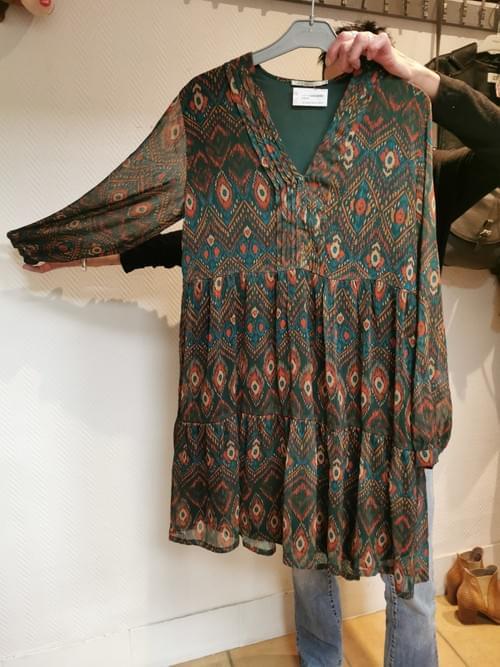 "robe Elora "" tapioca"" Taille 36"