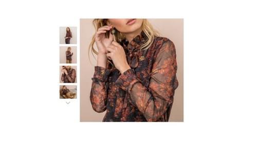 """blouse neuve Elora """"Trapeze"""" T36"""