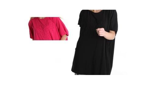 tee shirt king size 44/50 noir