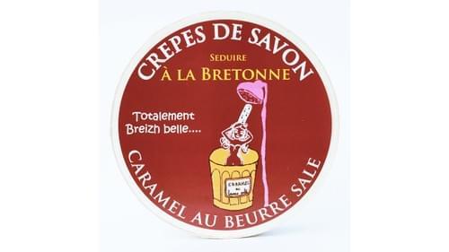 Crêpes de savon caramel au beurre salé ( boite de 10 crêpes )