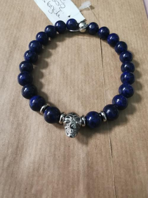 bracelet en Lapis Lazuli pour lui