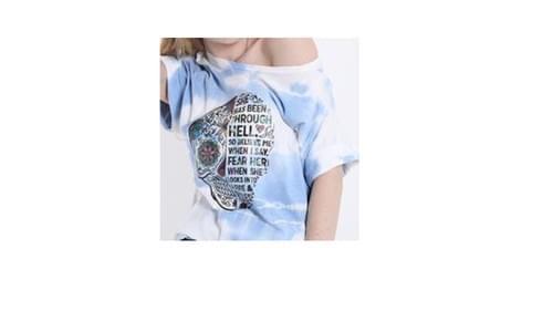 tee shirt tdm bleu taille unique