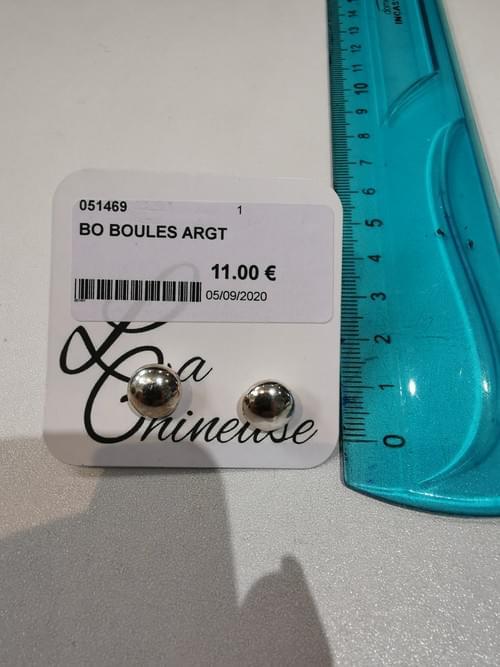 boucles en argent 925